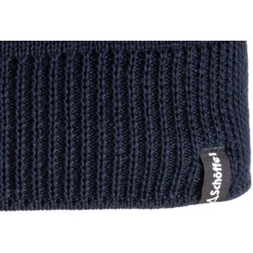 Schöffel Nantes3 Bonnet en maille tricotée, navy blazer